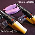 Cordless Embossing Tool and Soldering Iron