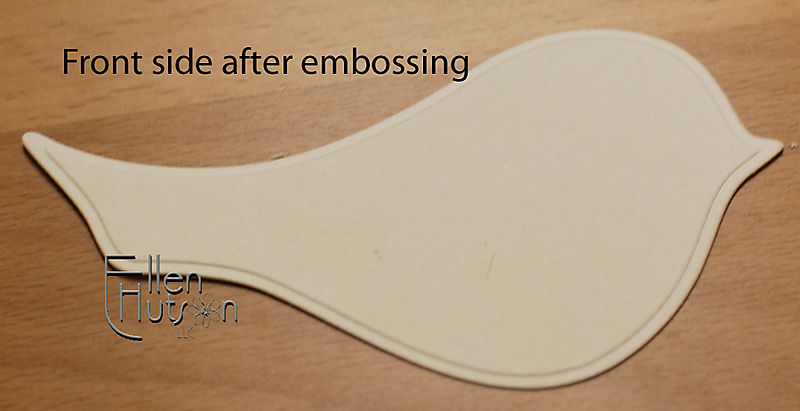 Embossing, Front 2