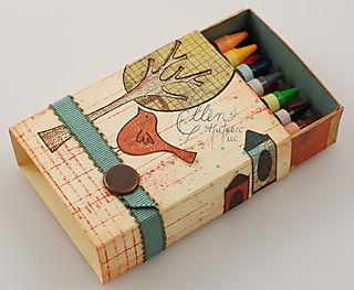 Match Box Crayons