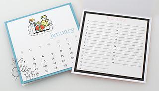 Perpetual Calendar Inside