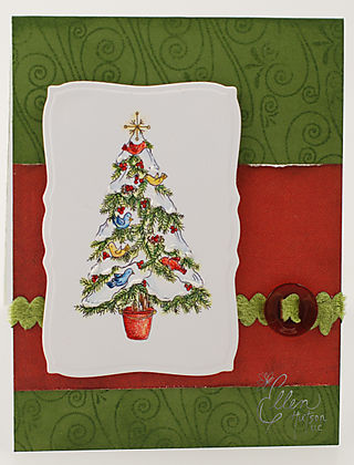 Christmas Tree Birds