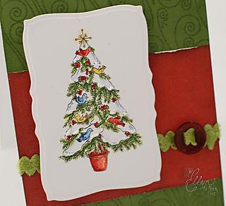 Christmas Tree Birds 2