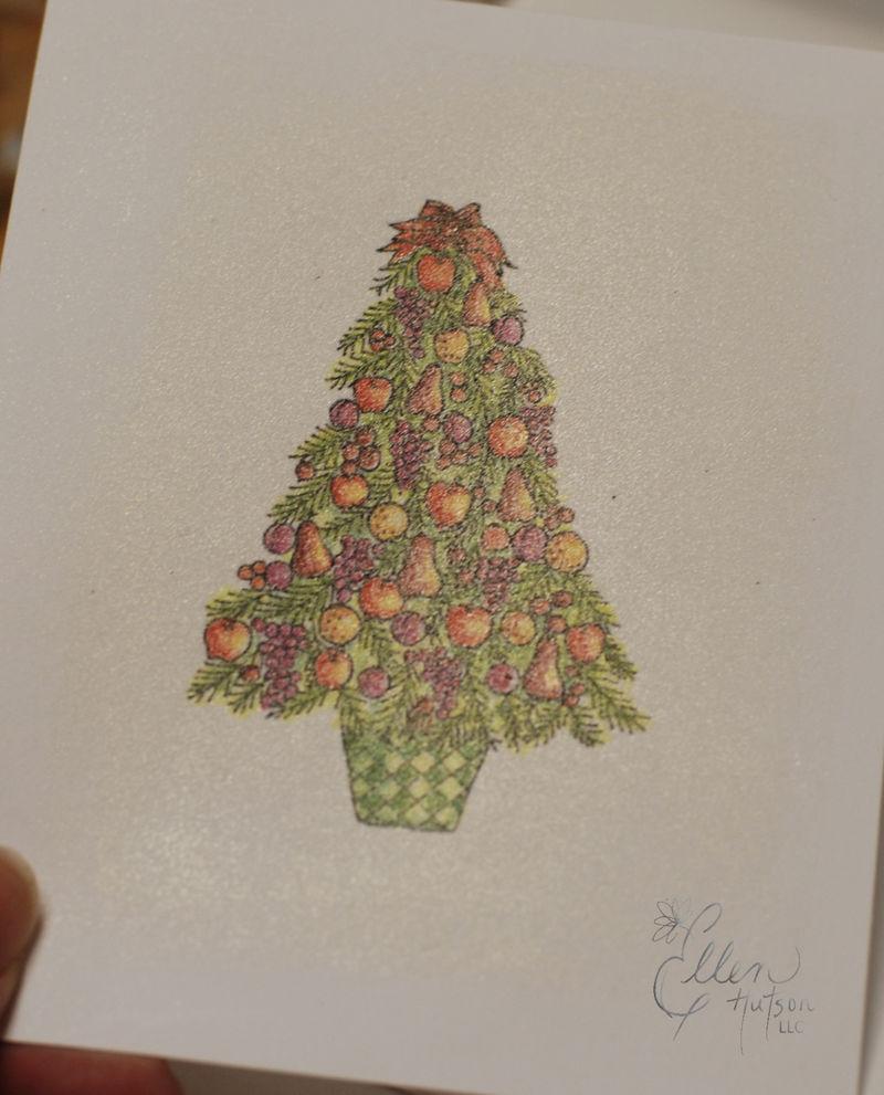 Della Robbia Christmas Tree Dazzled