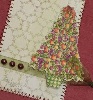 Della Robbia Christmas Tree Closeup