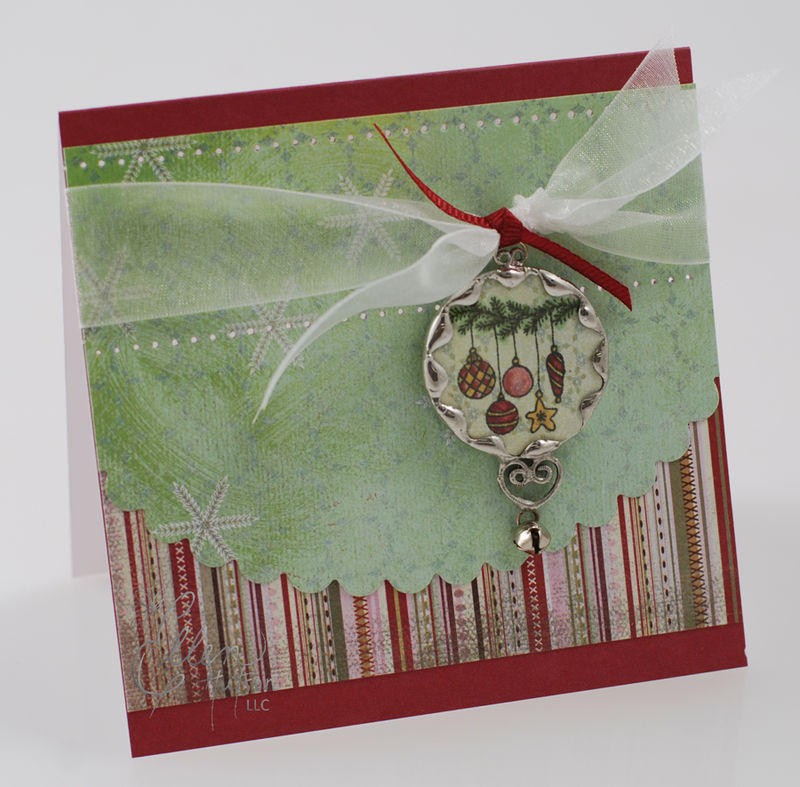 Soldered Ornament Card