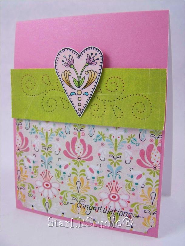 Heart card 4