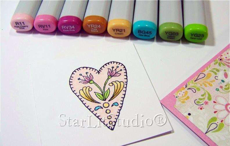 Heart card 3