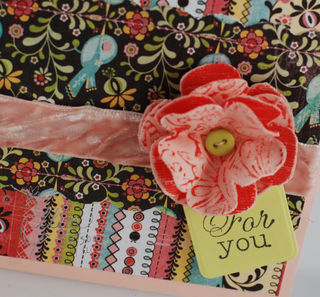 Resist Flower Card Closeup