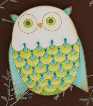 Artsy Owl Bling