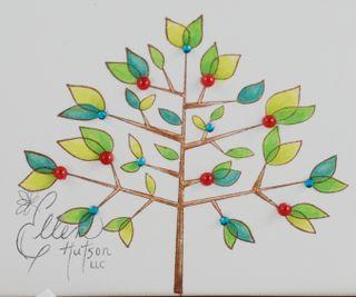 Leafy Tree Bling