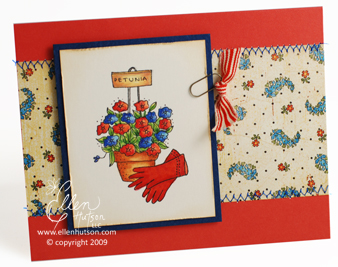 Petunia Card
