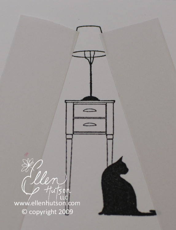 Cat and Lamp 1