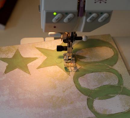 Stitching layout 3