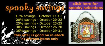 Spooky Savings