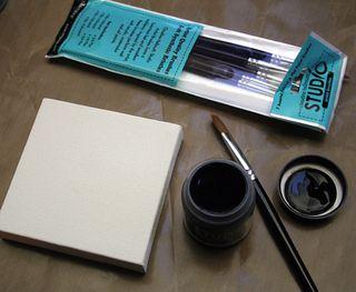 Wall-art-brushes