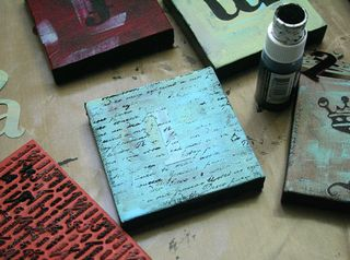 Stamp-canvases