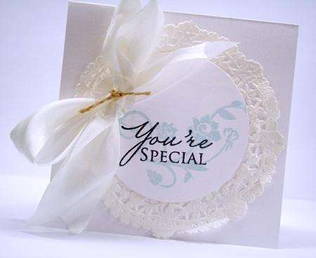 White-on-white-card
