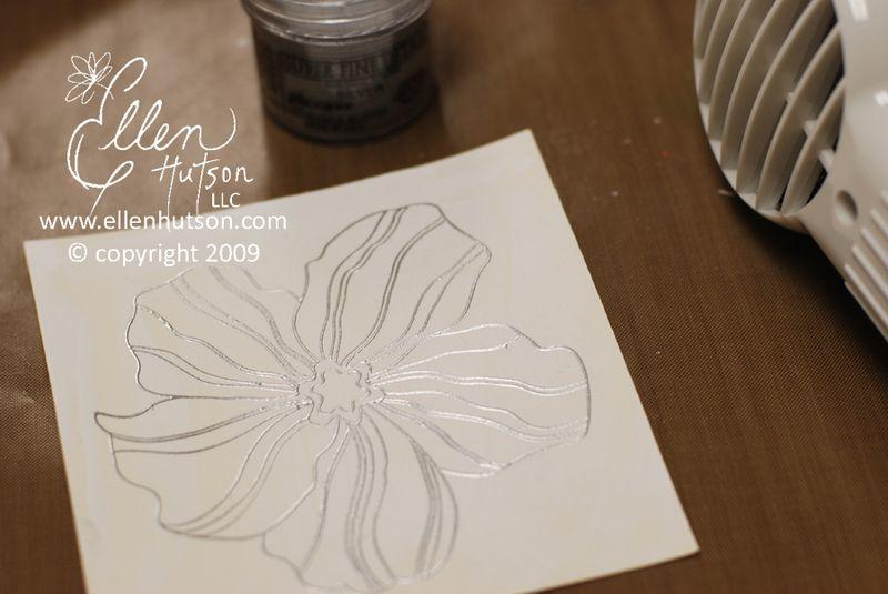 Embossed Flower
