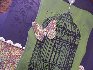 Butterfly cage card 13