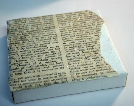 Book-page-adhered