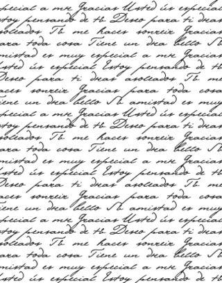 CHF Spanish Script