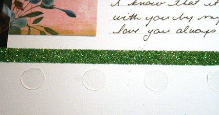 Glue-dots-row