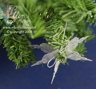 Silver Leaf Ornament