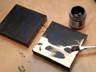 Wall-art-black-paint-layer