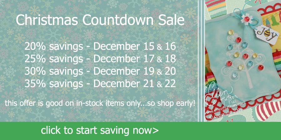 Christmas Countdown Sale