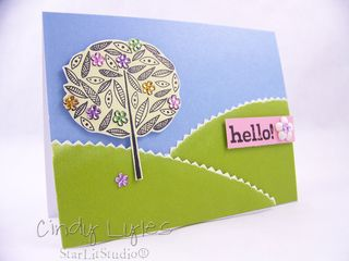 Ha hello card 3