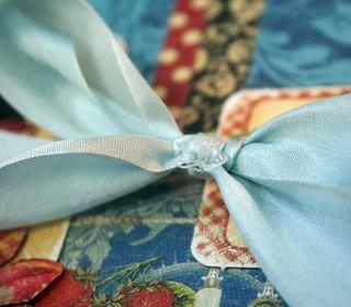 Glue-dot-on-ribbon