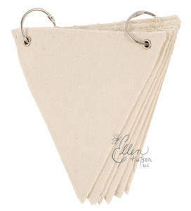 Canvas Triangle Banner