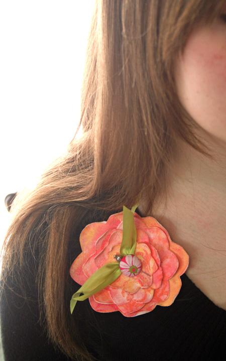 Flower-corsage