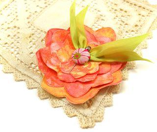 Canvas-flower