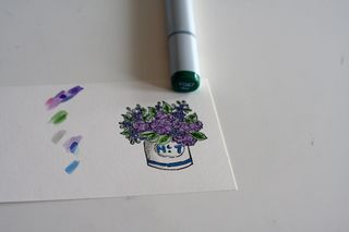 Mother's day pin card 12