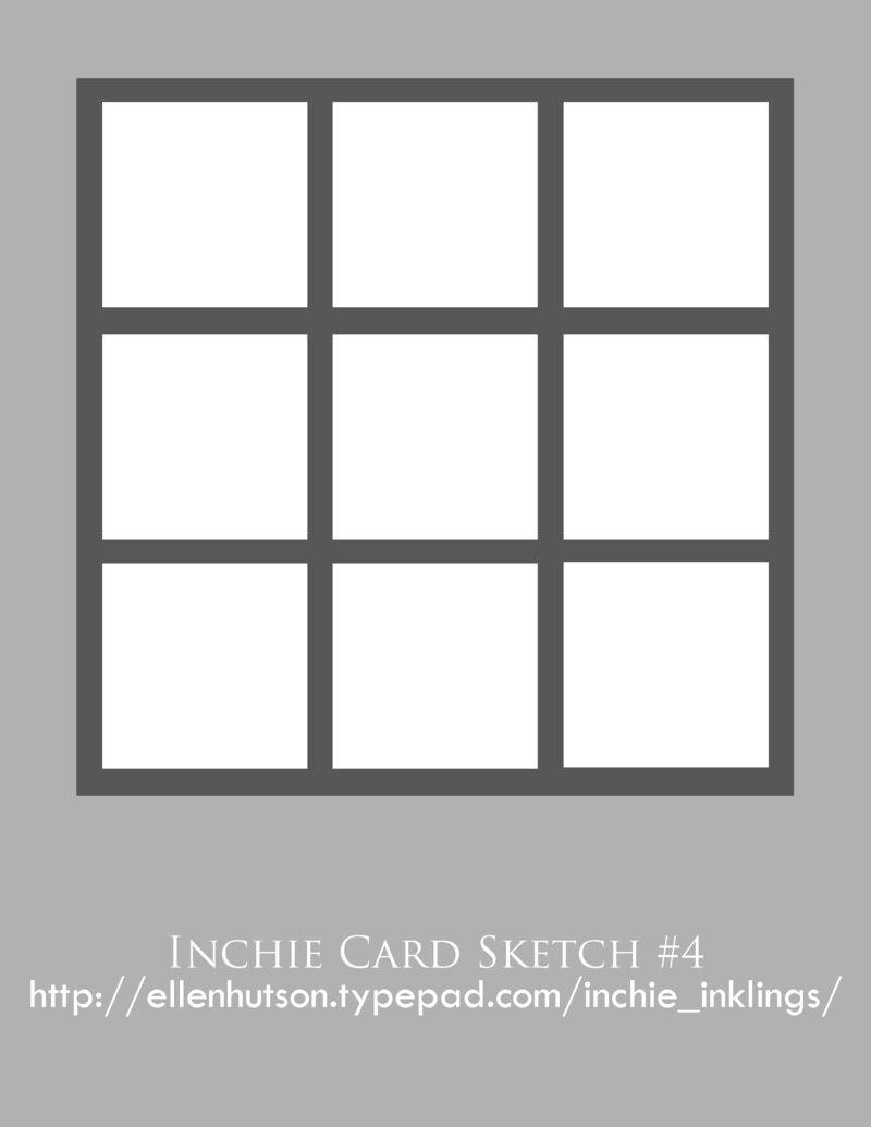 Inchie Card Sketch 4 - Lisa Strahl