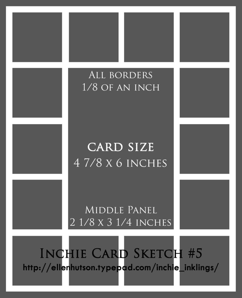 Inchie Card Sketch 5 - Ellen Hutson, LLC
