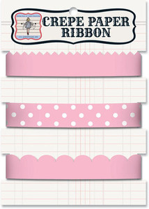 Rb271 pink crepe ribbon