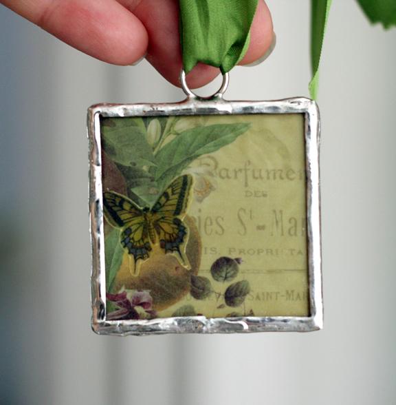 Vintage Webster's Soldering pendant