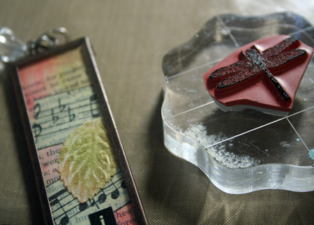 Stamping-on-memory-glass