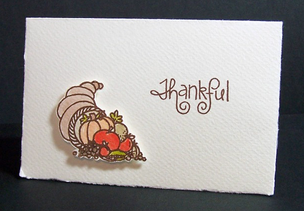 Thankful Coricopia by Lisa strahl