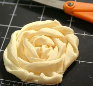 Trimmed-flower