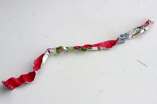 Flower week paper rosette 3