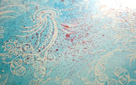 Splatter-detail