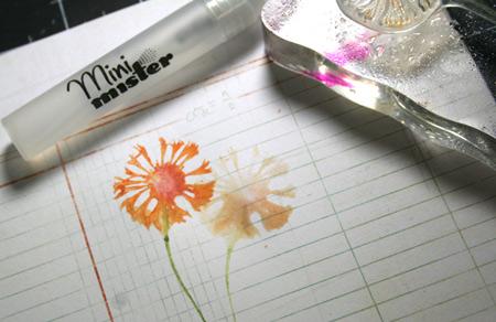 Watercolor-look-flower