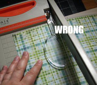Wrong-cutting