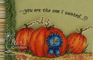 Three Pumpkins Coloring