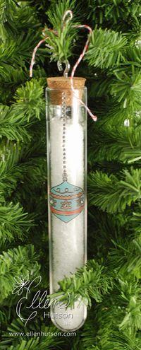 Christmas Test Tube