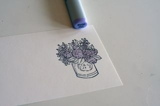 Mother's day pin card 3