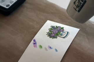 Mother's day pin card 18